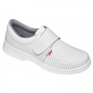 Zapato Blanco Cerrado Velcro 1805 LM DIAN